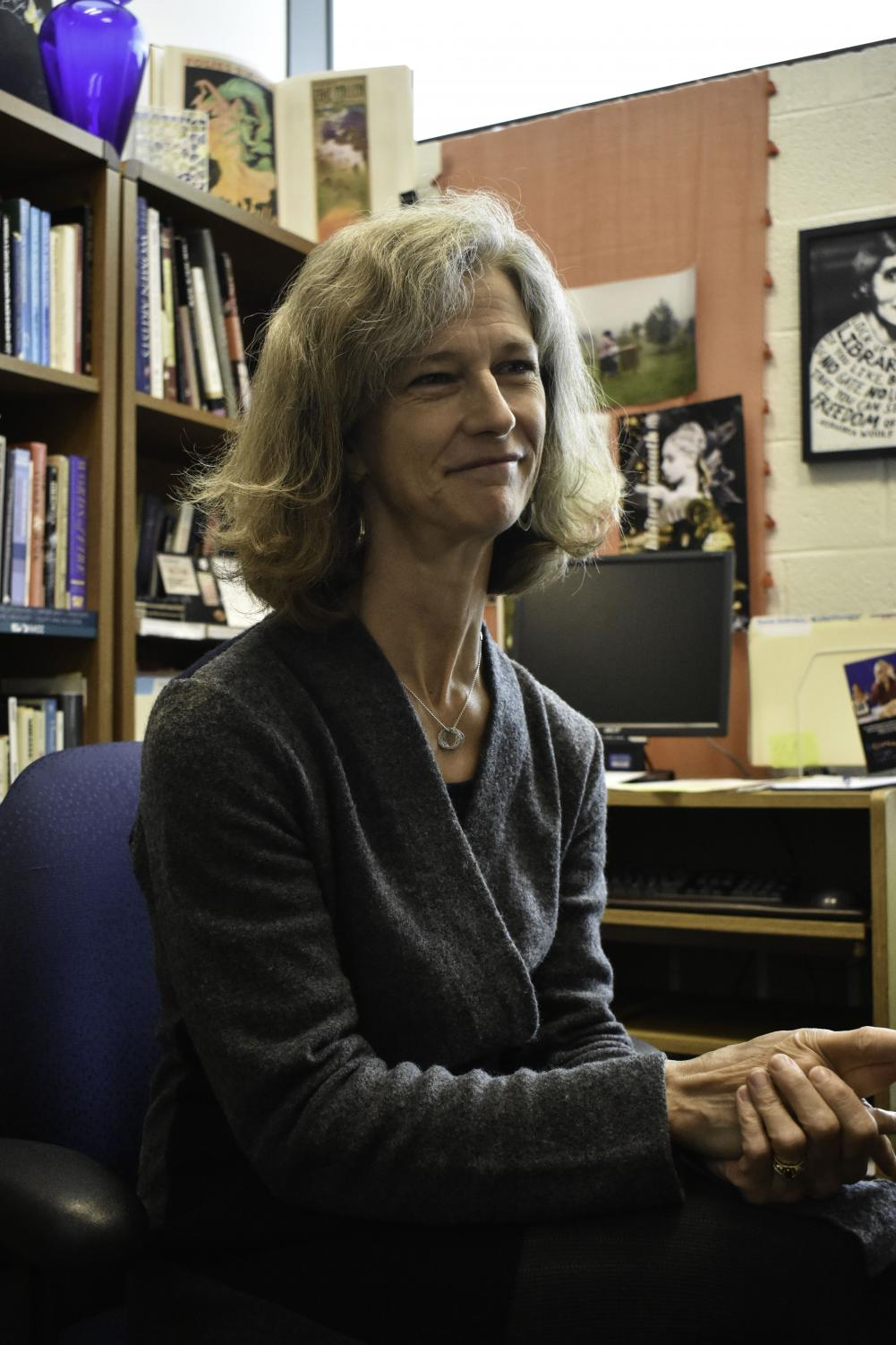 Professor Suzanne Spoor said she supports AACC's having department chairs.