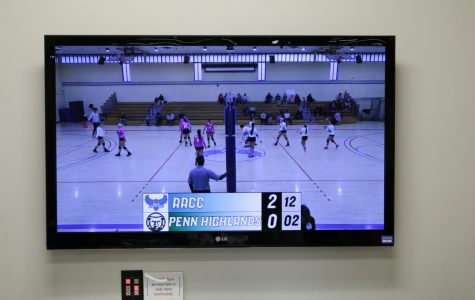 Volleyball is one of the sports AACC Athletics streams on its YouTube channel.