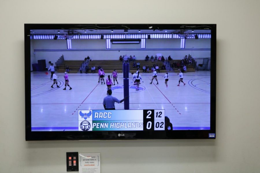 Volleyball+is+one+of+the+sports+AACC+Athletics+streams+on+its+YouTube+channel.