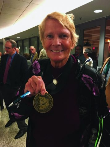 College awards former leader emeritus status
