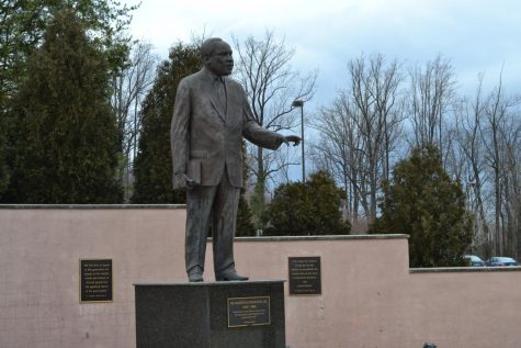 A redesign of the Martin Luther King Memorial on West Campus will begin in the spring.