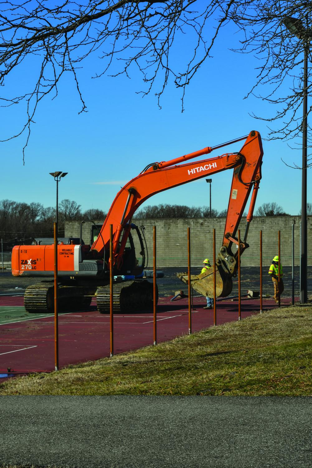 Students say campus construction has made parking inconvenient.