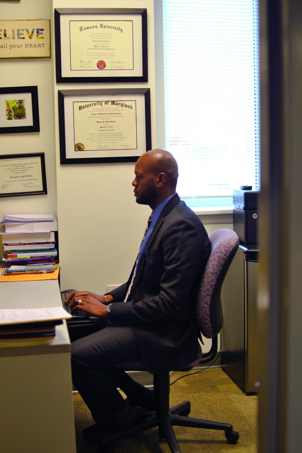 Dr. Darian Senn-Carter is one of at least three professors at AACC who are also politicians.