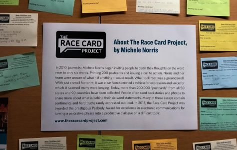 BHM committee discusses impact of campus Race Card Project