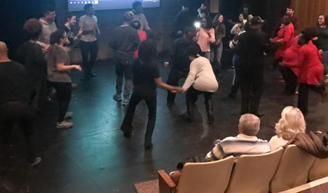 Black History Month Committee hosts hand dancing event, documentary screening