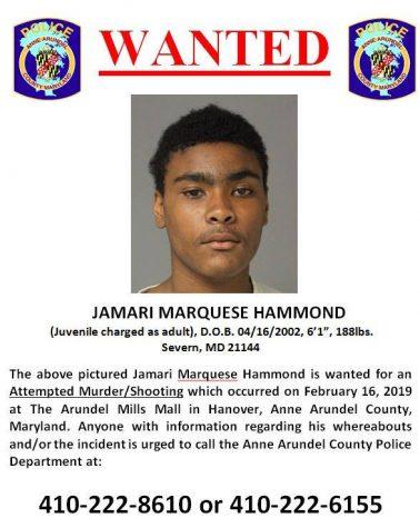 Update: Police name suspect in Arundel Mills shooting