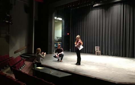 The Road to 'Romeo & Juliet': Student Actors Brave the Cold to Warm Up for Auditions