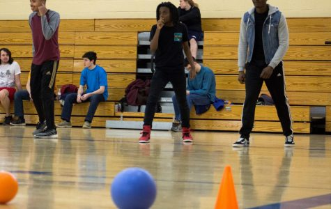 Dozens play in Campus Ministry dodgeball tournament at AACC