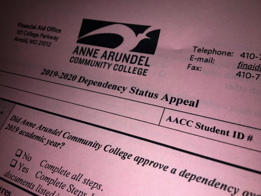 AACC+students+who+are+estranged+from+their+parents+may+be+able+to+fill+out+FAFSA+quicker+if+Congress+passes+a+new+bill.