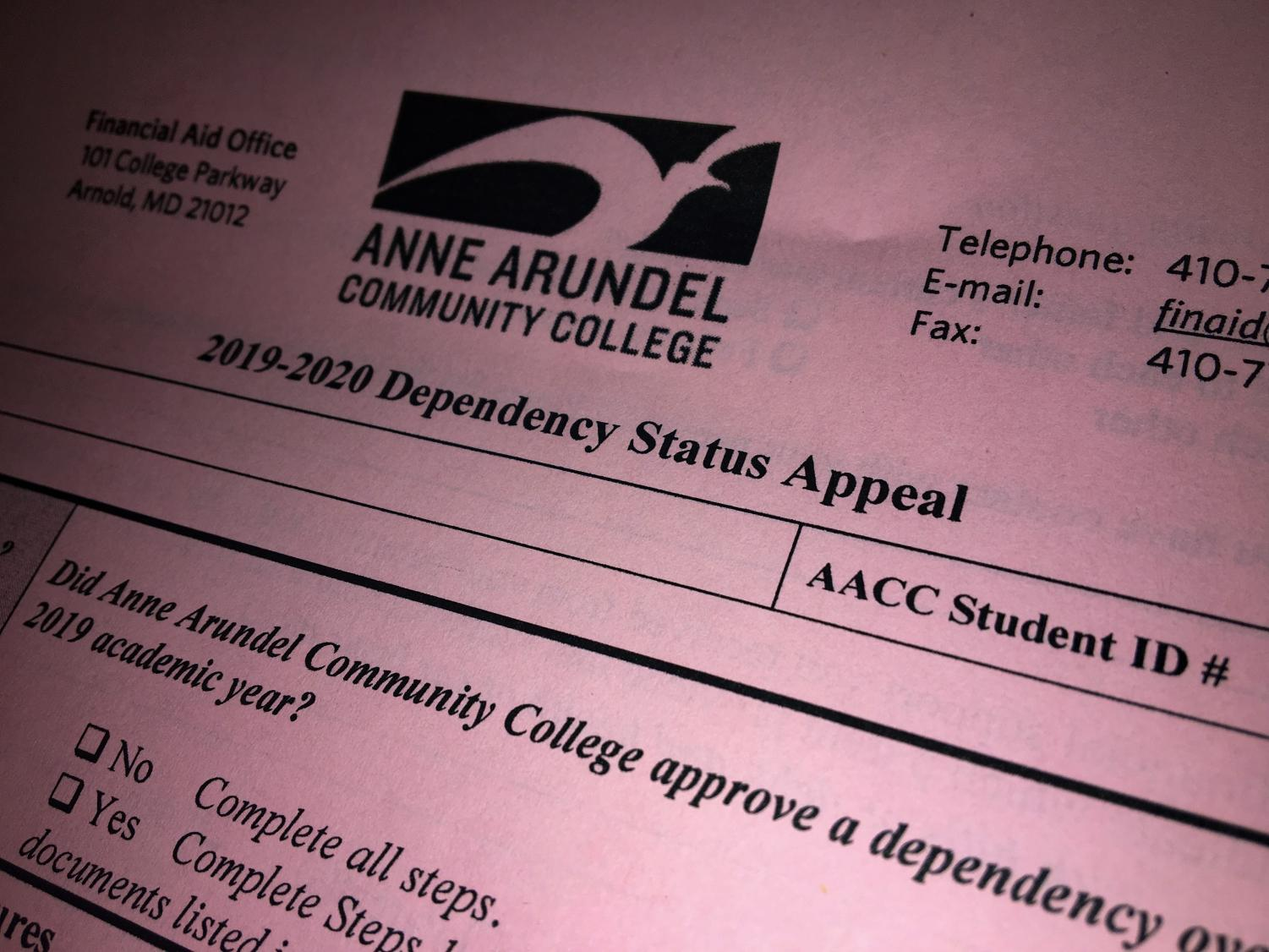 AACC students who are estranged from their parents may be able to fill out FAFSA quicker if Congress passes a new bill.