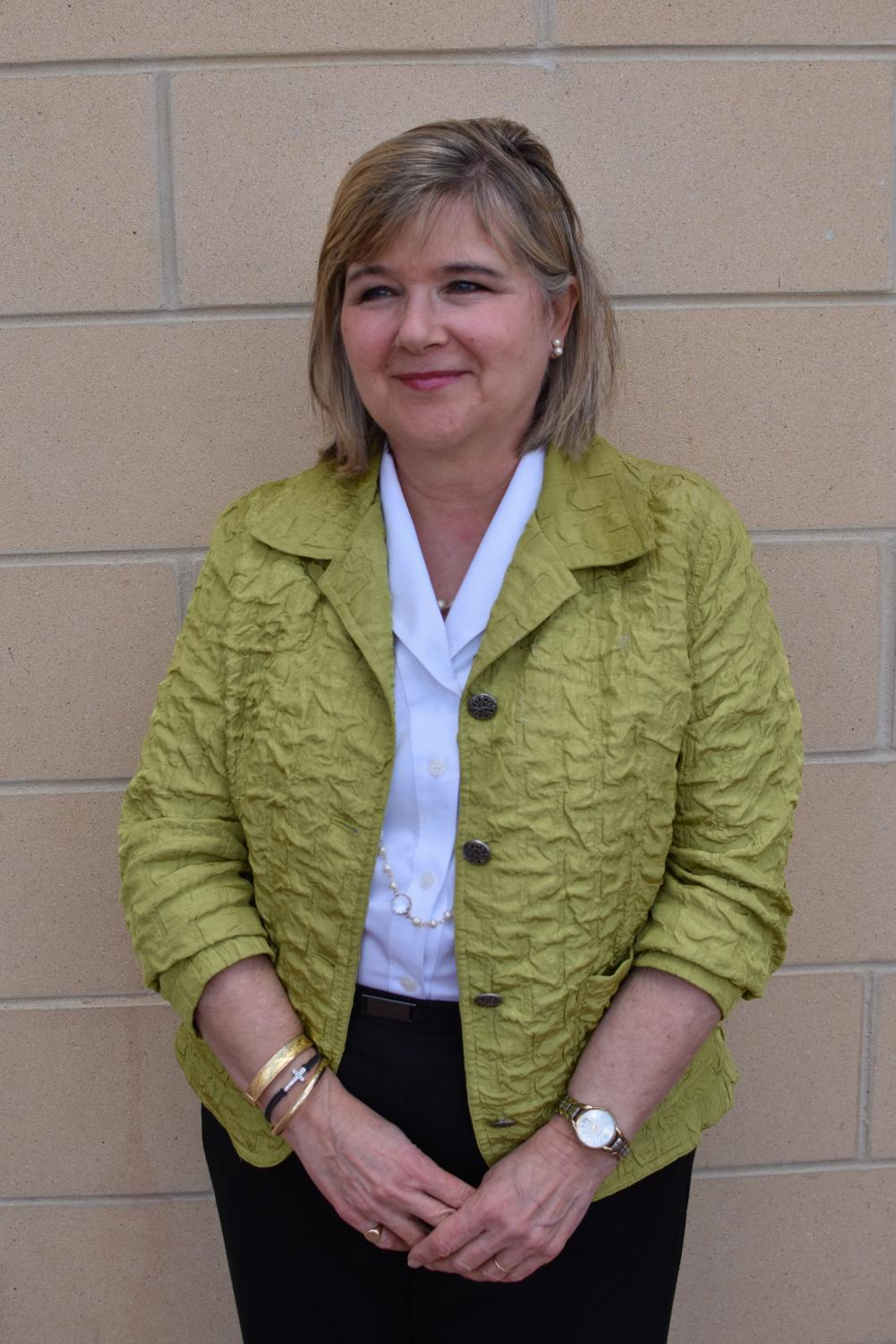 Karen Cook, the Dean of School and Business and Law