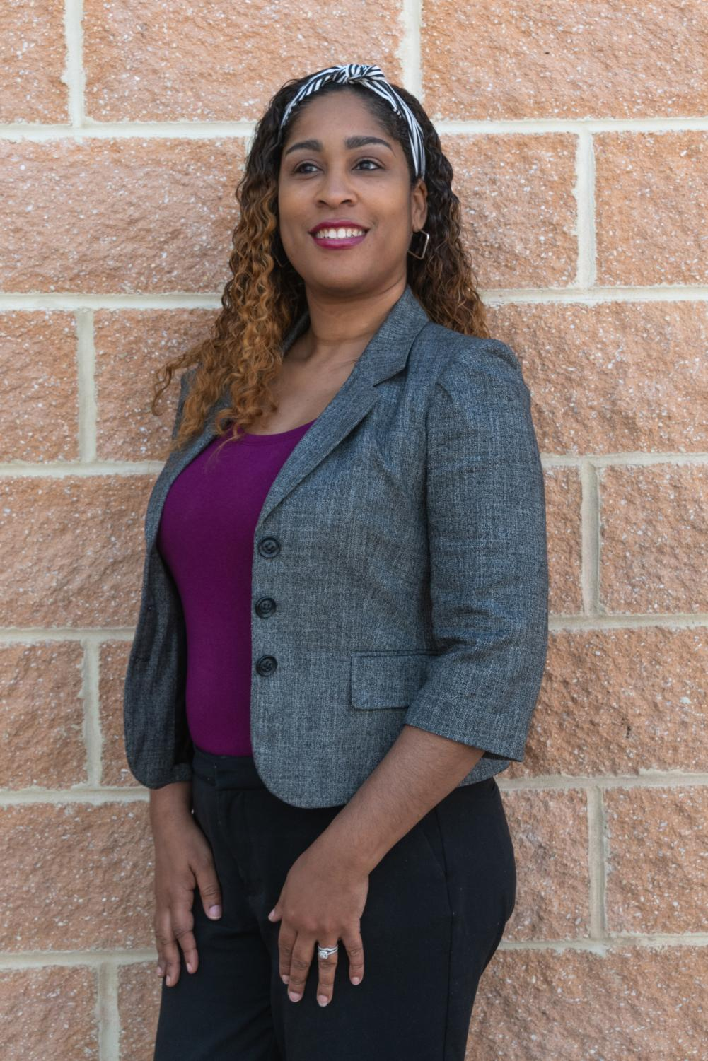 Tiffany Boykin, the Dean of Student Engagement