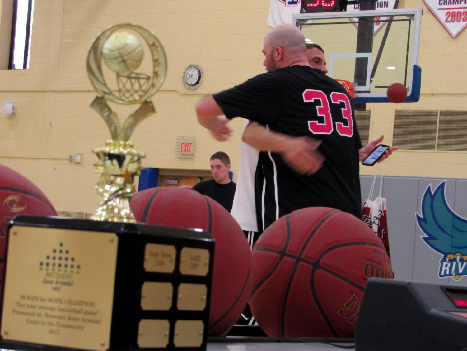Hoops for Hope is an annual charity basketball event to support individuals and families in recovery.