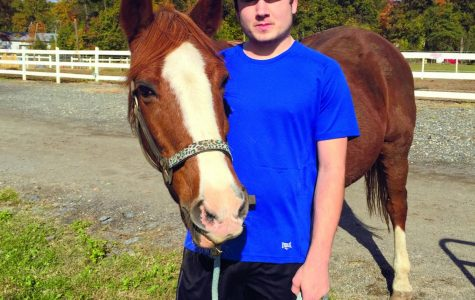 Student finds therapy in working with horses