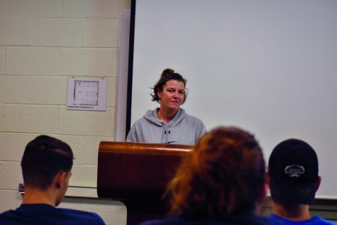 Students say speeches cause nerves, anxiety