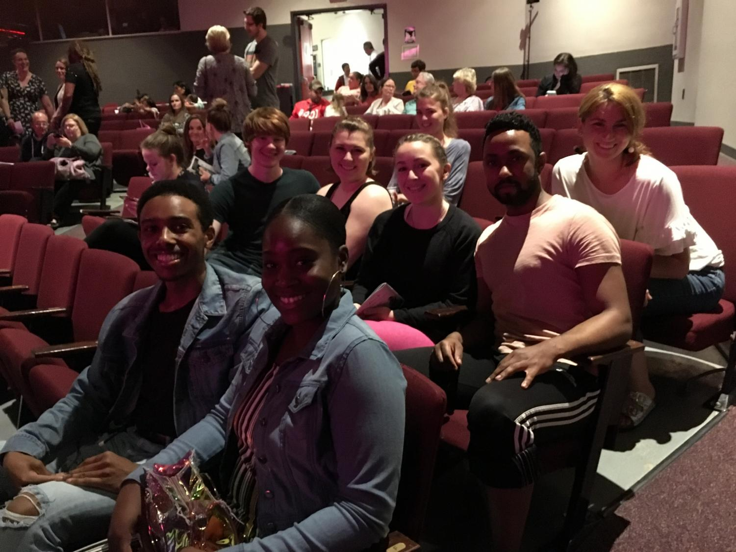 Current AACC dancers and other students and faculty gathered in The Kauffman Theater on May 4 to watch Alumni of the college dance in a 30th anniversary showcase.