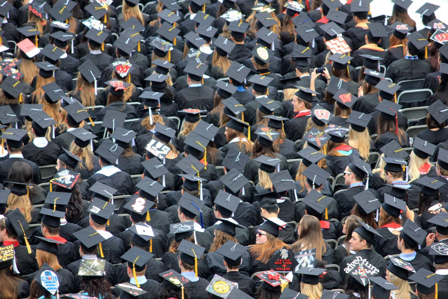 ESI professors said AACC grads should stave positive and prepare to make mistakes as they head into the real world.