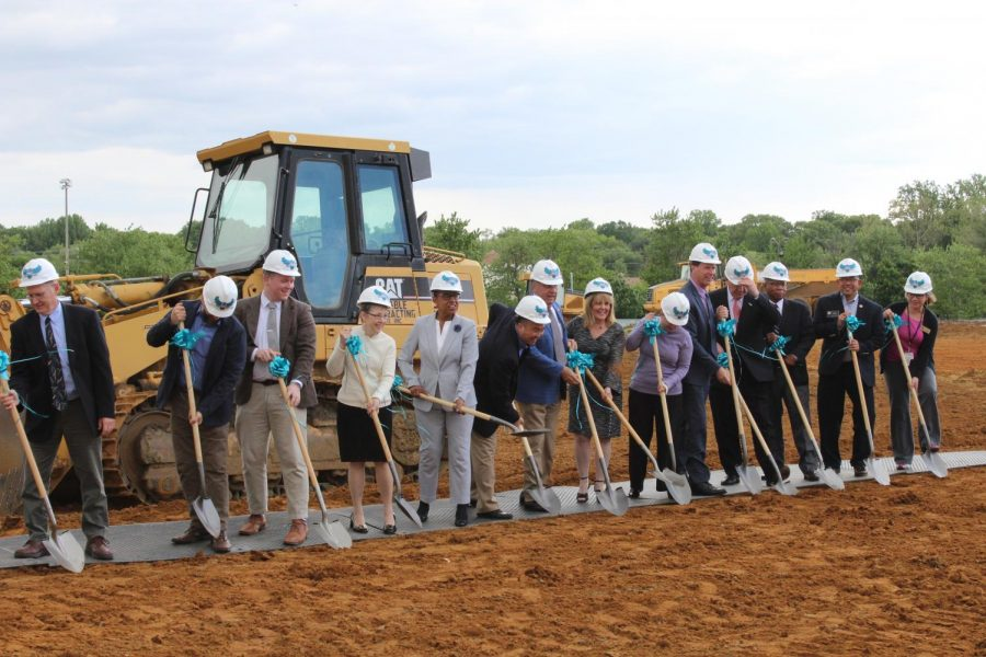 College breaks ground on Health and Life Sciences Building