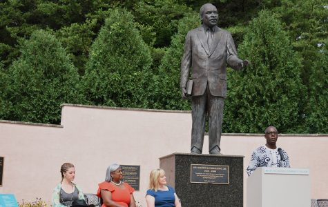 College rededicates MLK memorial