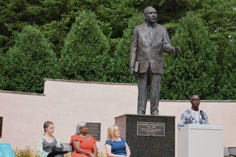 College rededicates MLK memorial