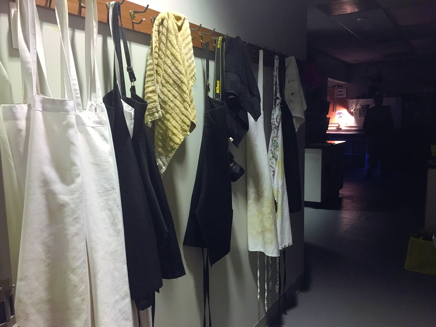 AACC students who want to use art spaces on campus, like the photography darkroom in Cade, can pay to use the labs without signing up for class.