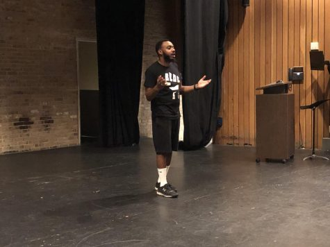 Activist speaks to AACC about MLK