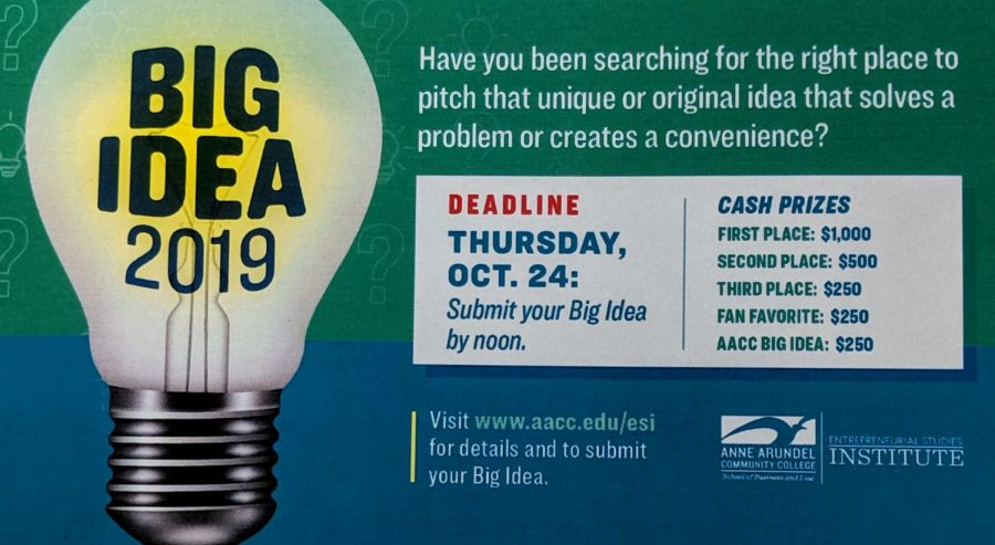 AACC Students and faculty can win up to $1,000 in a business pitch competition.