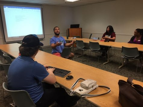 AACC's Student Government Association and Campus Activities Board met on Aug. 26 to begin planning for the fall semester.