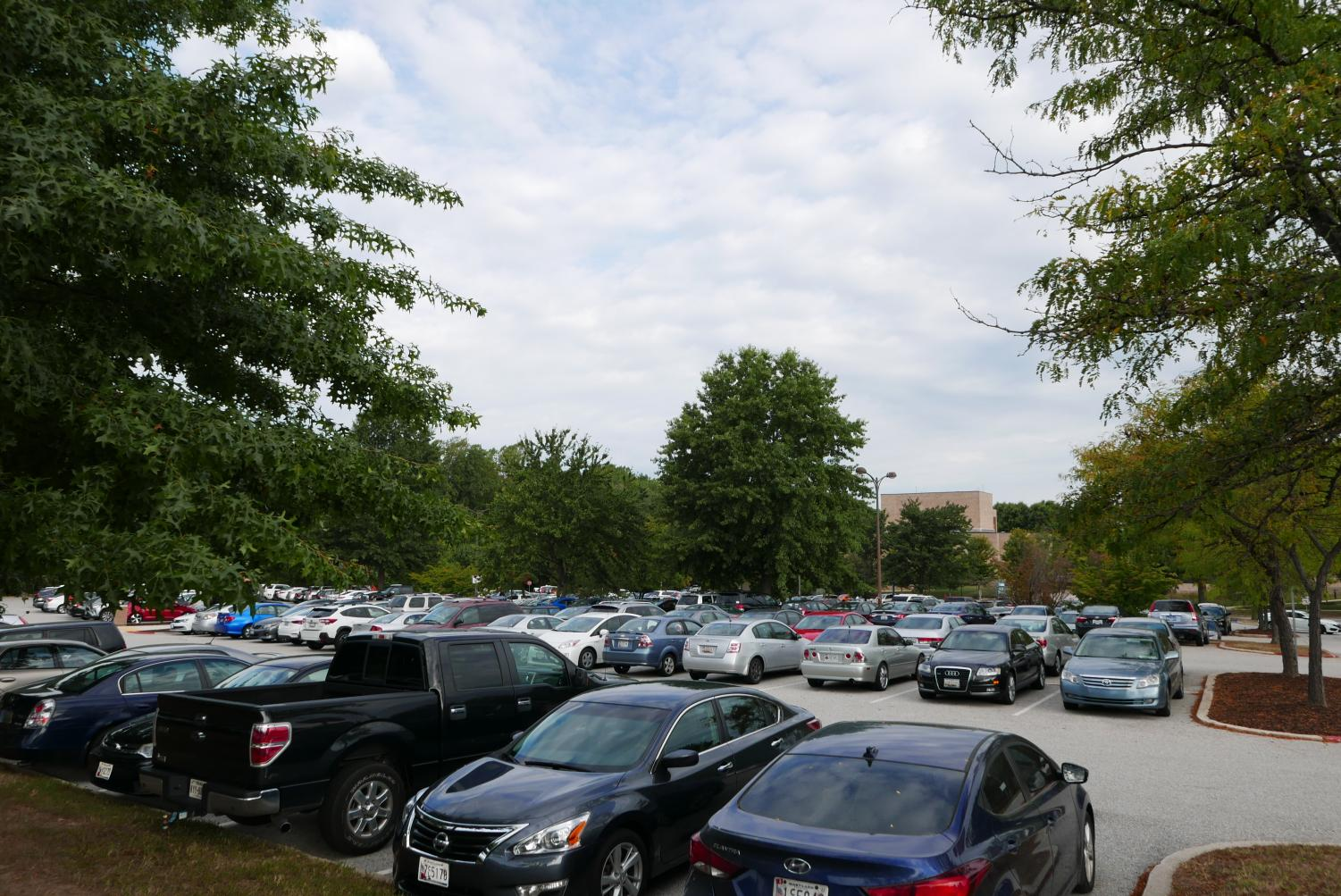 AACC students say parking is hard to find on campus, especially earlier in the day when classes are just starting.