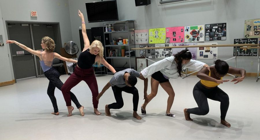 AACC+dance+students+say+working+with+recent+graduates+to+prep+for+auditions+helps+them+succeed.