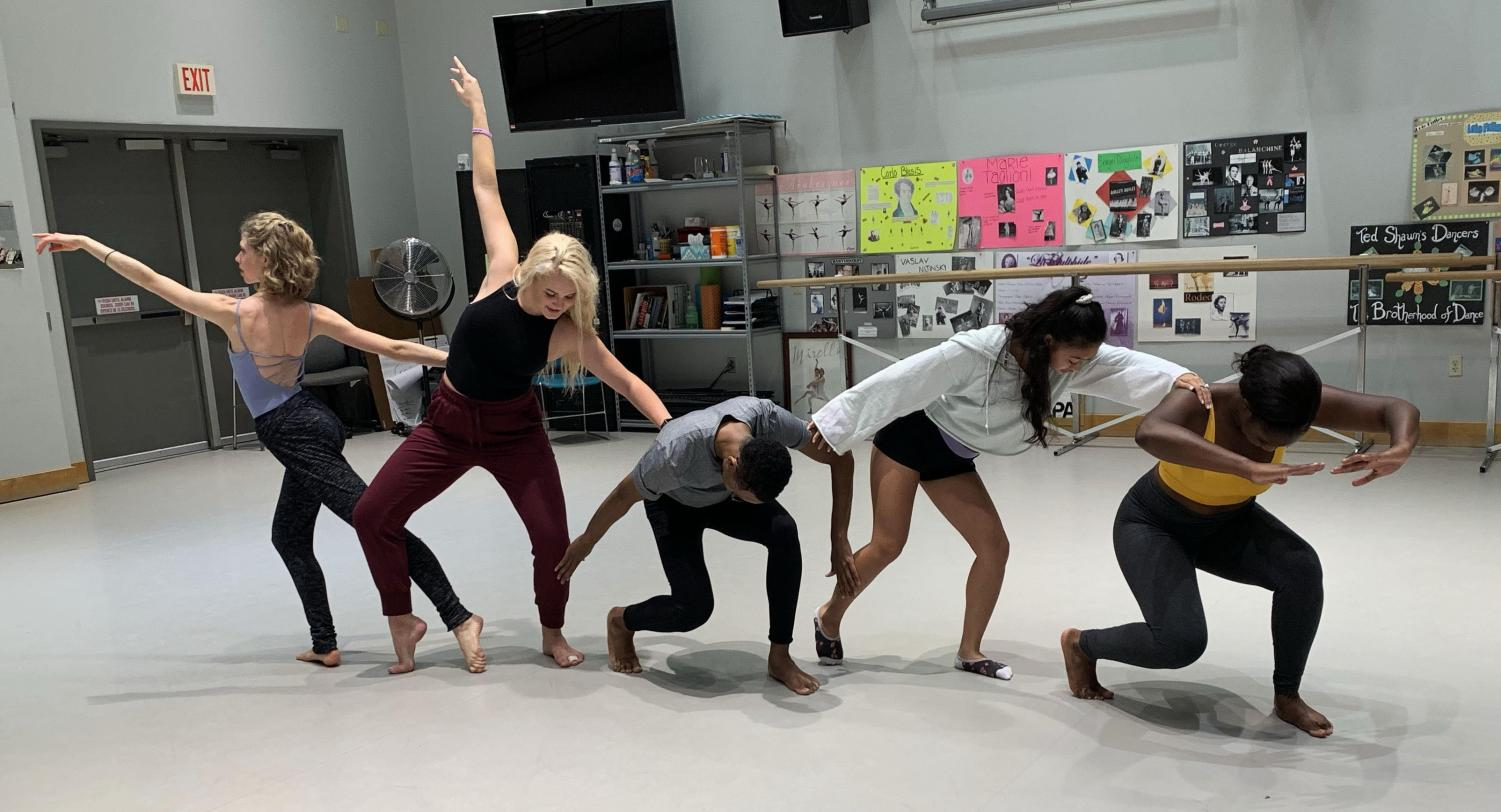 AACC dance students say working with recent graduates to prep for auditions helps them succeed.