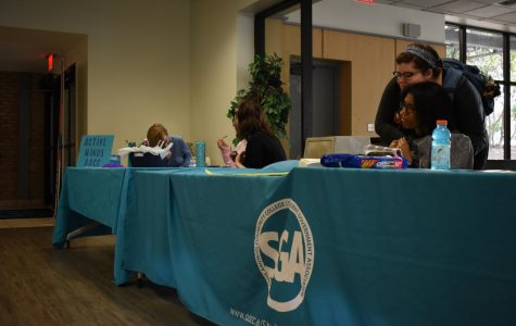 SGA connect clubs with students at ClubsGiving week