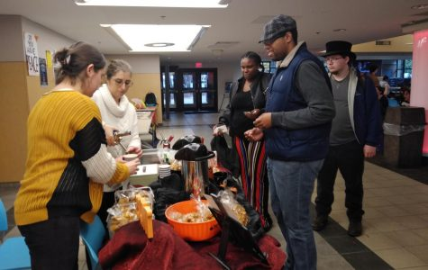 Culinary students sell cookies and drinks
