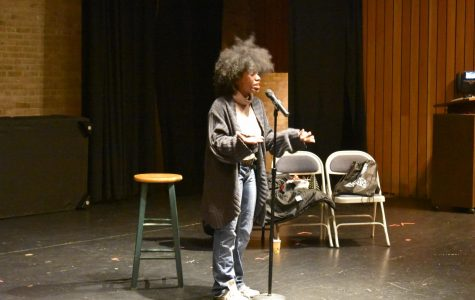 Baltimore slam poet performs at Amaranth Coffeehouse