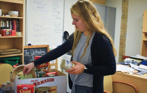 Third-year communications student Kaitlyn Walton says to keep giving once the holidays pass.