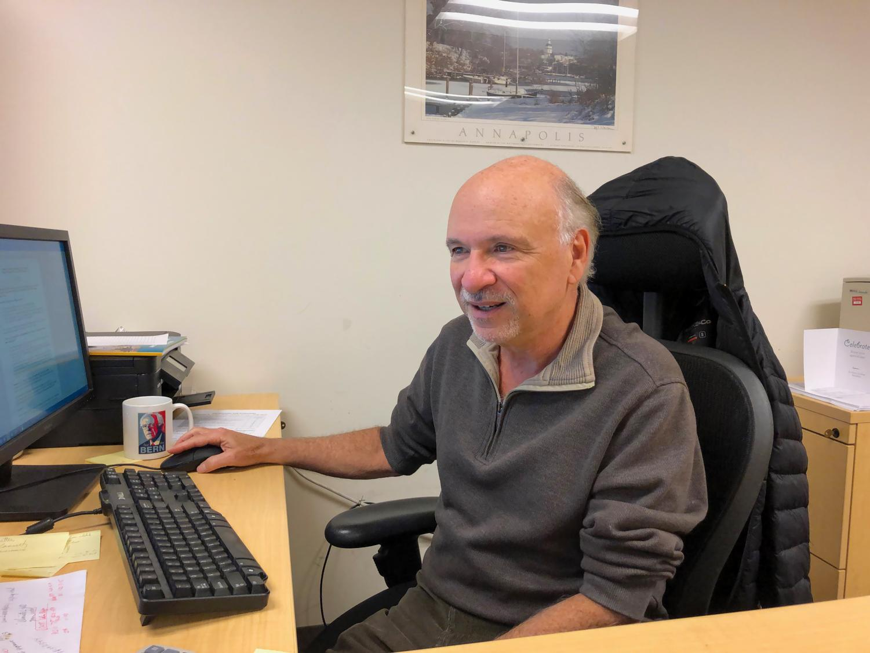 Political science professor Dan Nataf leads AACC's biannual survey.