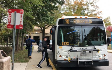 First-year computer science student Tyler Lockman says he checks his social media and edits photos during his commute to school.