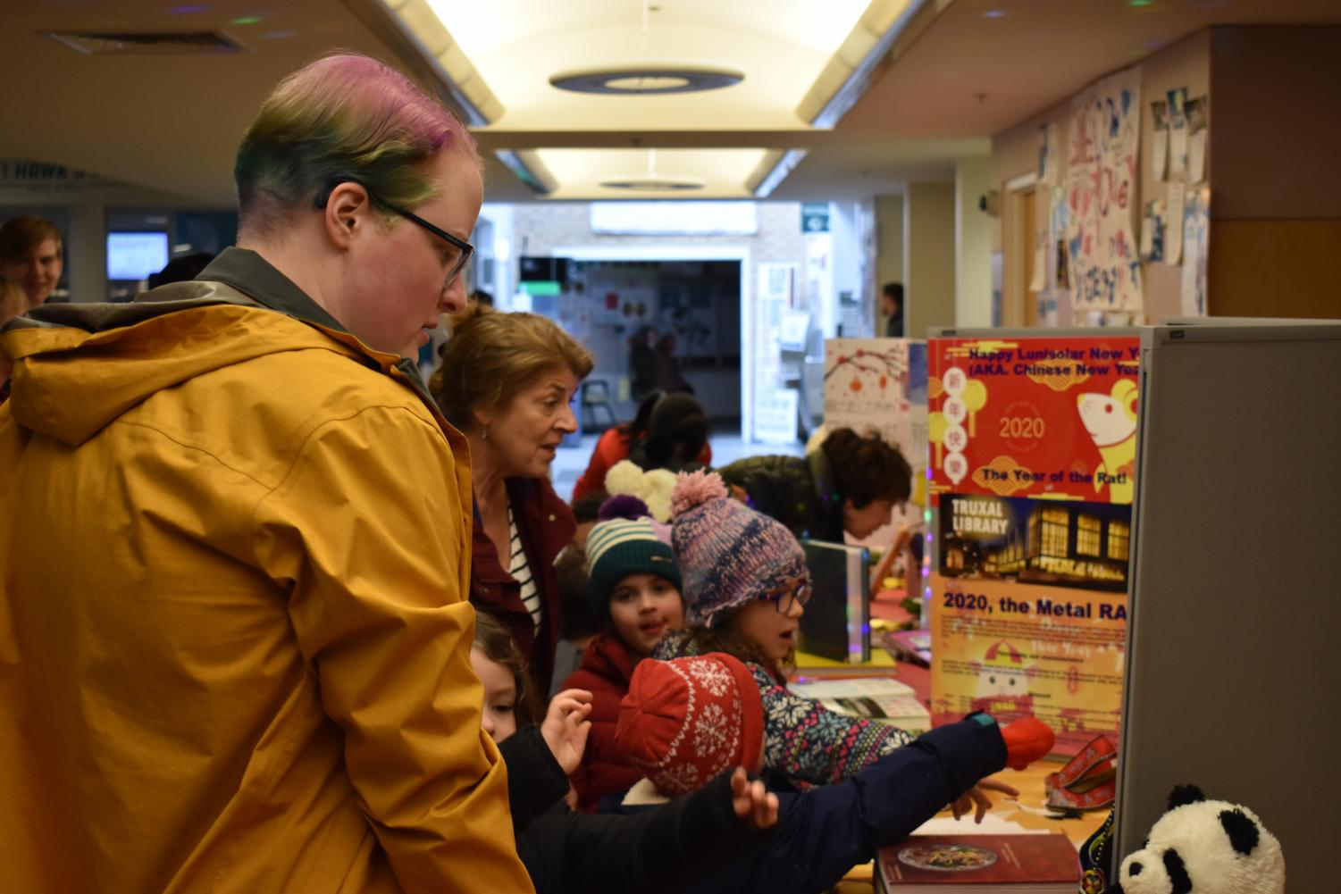 Students learn how other cultures celebrate the new year at Lunar New Year.