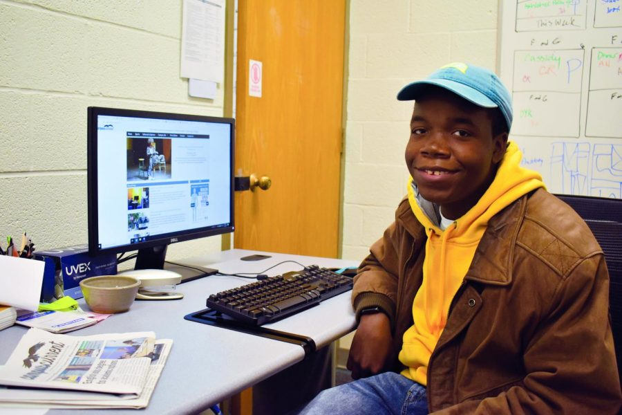 Second-year+journalism+student+Christian+Richey+takes+over+as+editor-in-chief.