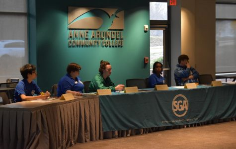 AACC's Student Government Association held it's spring general forum on February 3rd.