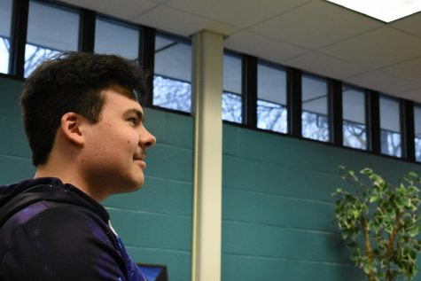 SGA President Mitchell Santos announces nominees for his current position.
