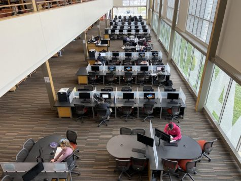 The Truxal Library is among the student services that will be made available starting April 2.