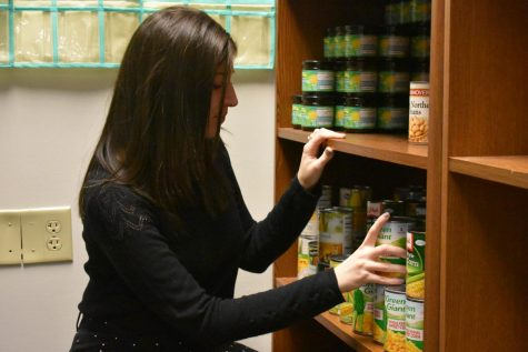 The AACC food pantry began delivering food to students, staff and faculty last week, according to Basic Needs Coordinator Caitlin Silver.