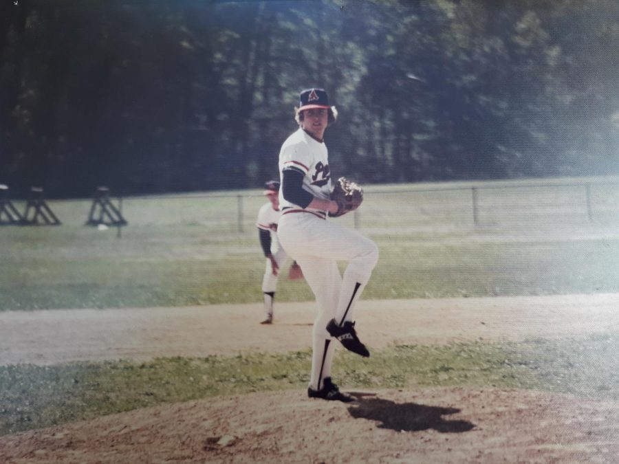 Steve Pegg started his 44-year career on campus as a part-timer in the bookstore while he took classes and played baseball for the AACC Pioneers.