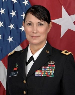 Brig. Gen. Irene Zoppi Rodriguez is the first Hispanic member of AACC's Board of Trustees.