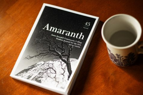 The editors of Amaranth, AACC's student literary magazine, hosted a virtual open-mic night last week.