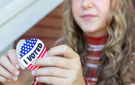 Students can register to vote online, by mail or in person on Election Day.