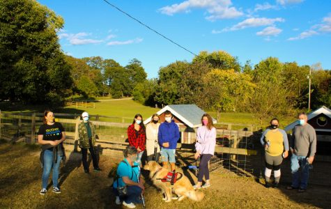 AACC students went to Kinder Farm Park  in Millersville on Oct. 8 to rise awareness for suicide prevention.