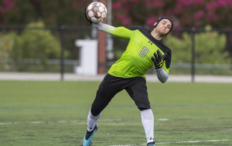 Men's Soccer goalie Brenden LeMaster says he would be willing to play for fans if the college allowed it.