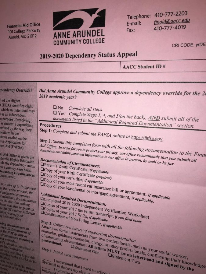 Financial aid specialist advisesstudents to fill out FAFSA